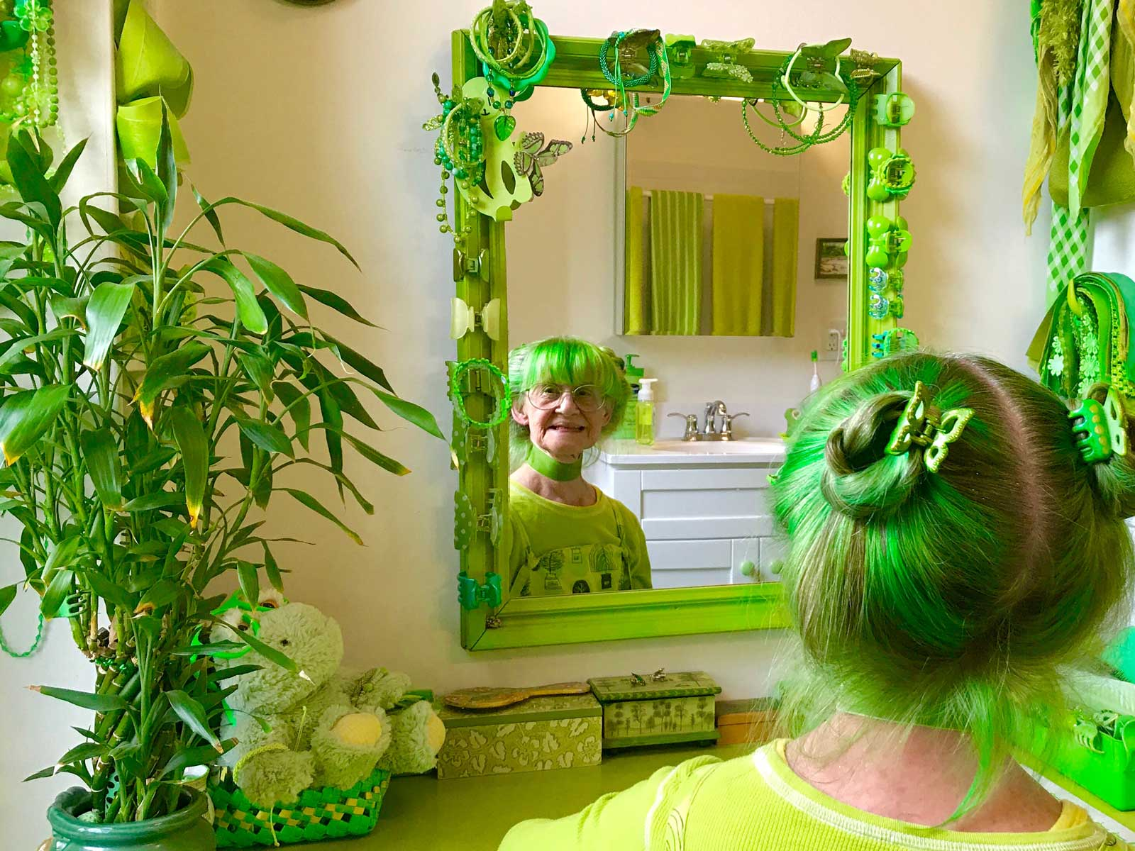 Green Lady of New York City