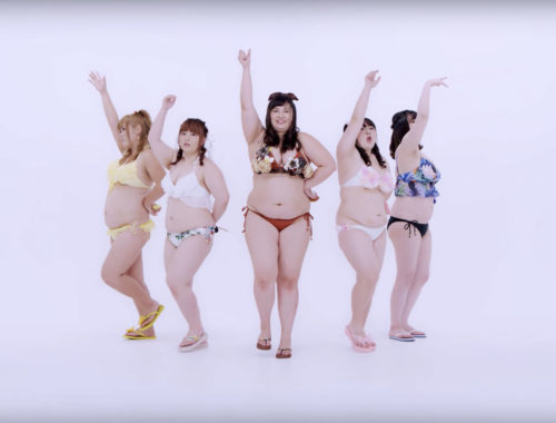 "Big Angel - ""fat idol"" J-pop group"