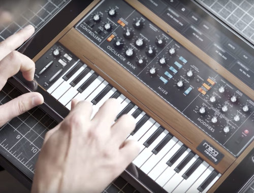 Moog Minimoog Model D app - Free Music Software