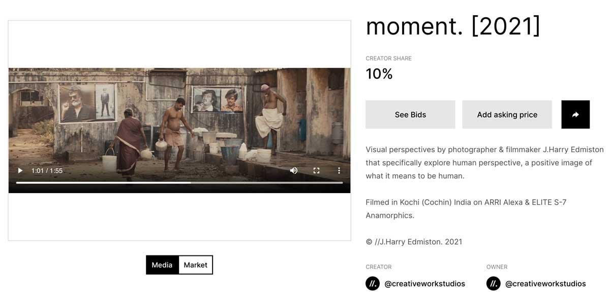 moment. [2021] by J. Harry Edmiston