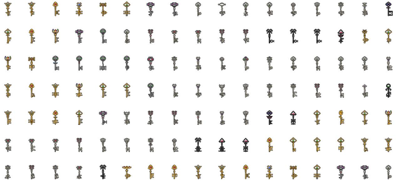 Chaos Keychain